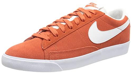 Nike Blazer Low, Scarpe da Basket Uomo, Mantra Orange/White-White, 44.5 EU