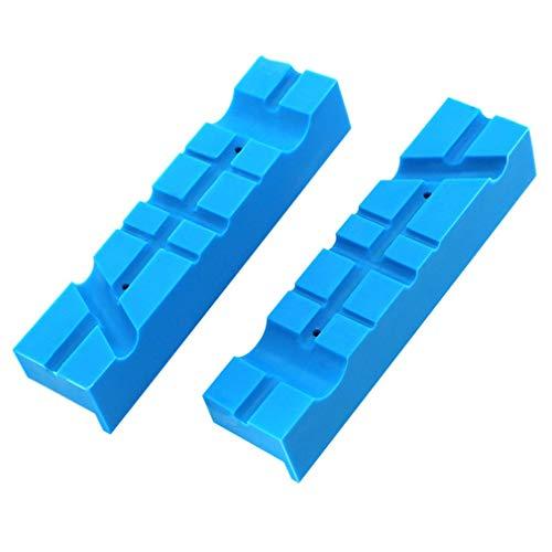 Magnetische bankschroefbank Bankschroefbek Multi-groef grepen voor frees blauw