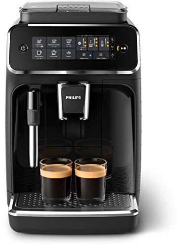 Philips 3200 Series Fully Automatic Espresso Machine with Ceramic Grinder, Steam Wand Milk Frother $499
