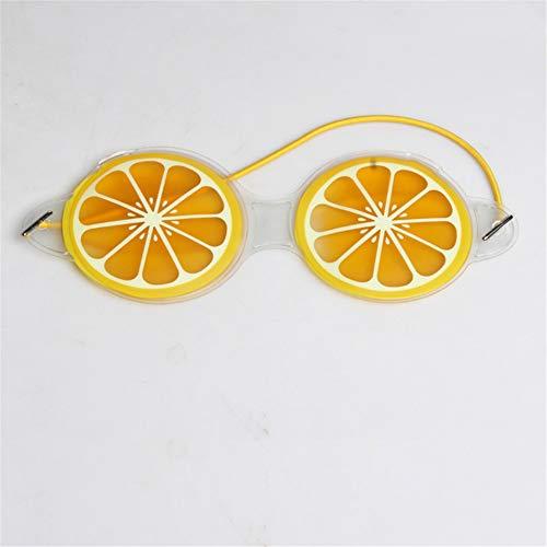 Nouvelle Fraise De Melon D'Eau De Citron De Fruit Soulagefatigue Sac D'Oeil Noir Chaud Et Froid Appliquent Le Masque D'Oeil De Glace De Beauté 19X7Cm Citron