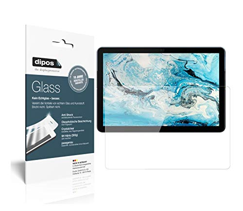 dipos I 2x Screen Protector compatible with Lenovo IdeaPad Duet Chromebook Flexible Glass 9H Display Protection