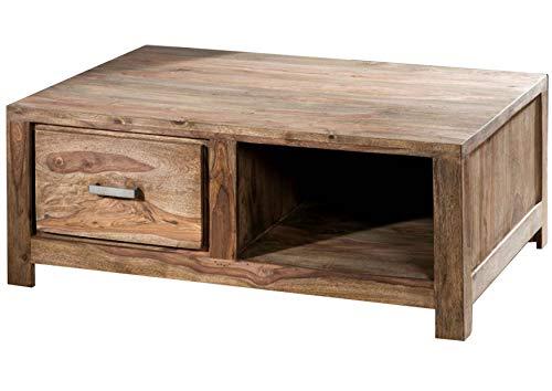 Table Basse 100x70cm - Bois Massif de Palissandre huilé - Buddha #116