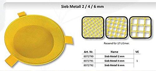 FTM Futtersieb Sieb Metall 4mm 8072791 Partikelsieb Madensieb
