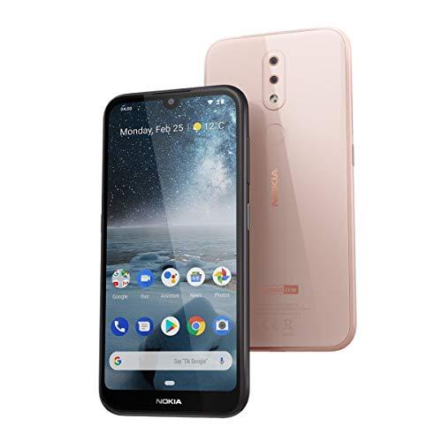Nokia 4.2 - Smartphone Dual Sim, 14.5 cm (5.71 ), 13 MP, 3GB RAM, 32 GB, Android 9 Pie) Pink Sand