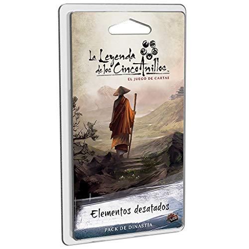 Fantasy Flight Games-La Leyenda De Los Cinco Anillos: Elementos Desatados-Español, multicolor (FFL5C14) , color/modelo surtido