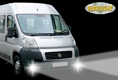 Fahrzeugspezifisches LED-Tagfahrlicht-Set (2006-2013) MIT Dimmfunktion inkl. ECE & RL Prüfzeichen - TÜV Eintragungsfrei.