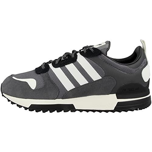 adidas ZX 700 HD, Zapatillas de Running Hombre, Grey Six Off White Grey Four, 41 1/3 EU