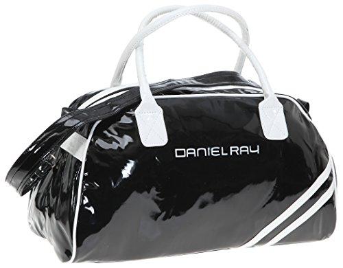 Daniel Ray Schultertasche SHINY medium - black