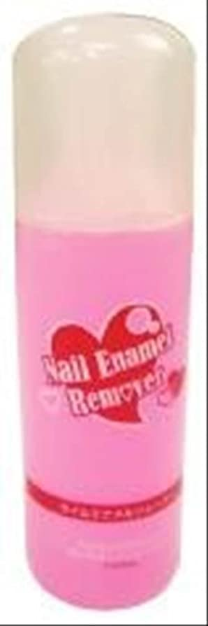 胸グラフィックフルーツネイルエナメルリムーバー(ピンク) WS350P単品 (150ml, ピンク)
