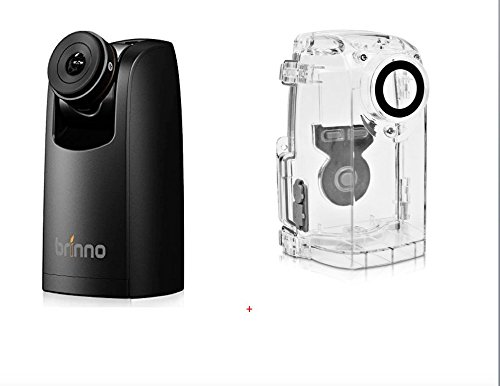 BRINNO TLC200PRO HDR TIME Lapse Video Camera and ATH120 Weather Resistant HOUSING Bundle - Ideal for Home School, Work from Home - Flexible Schedule Setup-Weatherproofing for Outdoor Environments