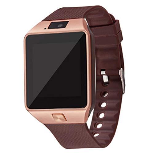 Ydh Pantalla táctil Smart Watch DZ09 con la cámara Bluetooth Wristwatch Relogio SIM Tarjeta Smartwatch para Xiao MI I-Phone Sam-Sung Hombres Mujeres SmartWatch y-Roid Hombres