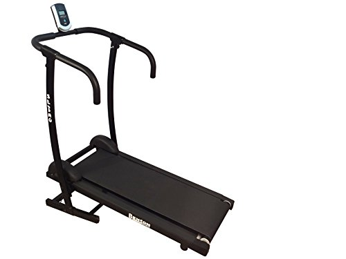 Benson Slimo Folding Treadmill (BJ-2017F) for Cardio Workout and Weight Loss with Fixed Inclination