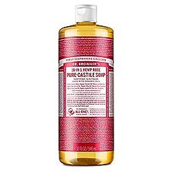 Dr. Brommers Rose Castille Soap
