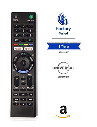 Factory Tested | Sony Universal Youtube Netflix Smart Tv Remote | Works...