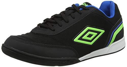 Umbro Futsal Street V, Chaussures de Futsal homme - Noir (Black Green Gecko  Electric Blue FCH), 43 EU