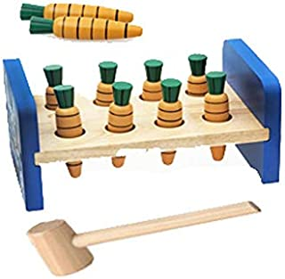 Ways of carrots, hammer game with carrots