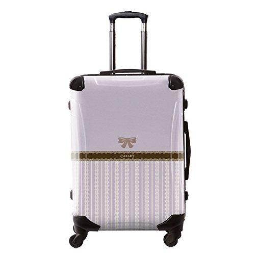 [キャラート] アート スーツケース プロフィトロール バニラ フレーム4輪 63L L 保証付 68 cm 4.1kg 浅紫