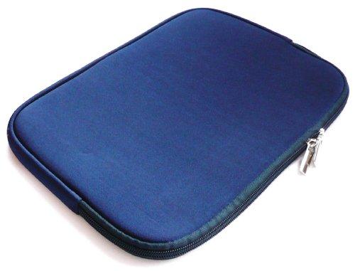 Emartbuy® Blau Water Resistant Neopren Soft Zip Hülle Cover geeignet für Dell Precision M3800 15.6 Zoll Workstation (15-16 Zoll Laptop/Notebook / Ultrabook)