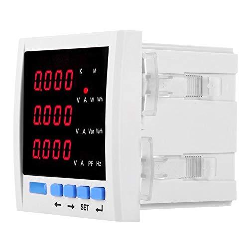 Medidor de potencia, voltaje actual Frecuencia Panel de energía eléctrica, Caja de medidor de red para instalaciones públicas de sistemas de energía industriales y de minería