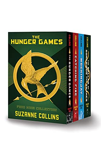 Compare Textbook Prices for Hunger Games 4-Book Hardcover Box Set The Hunger Games, Catching Fire, Mockingjay, The Ballad of Songbirds and Snakes  ISBN 9781338686531 by Collins, Suzanne