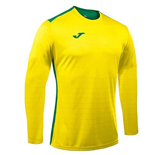 Joma Campus II T-Shirt à Manches Longues pour Homme Jaune/Vert Taille XS