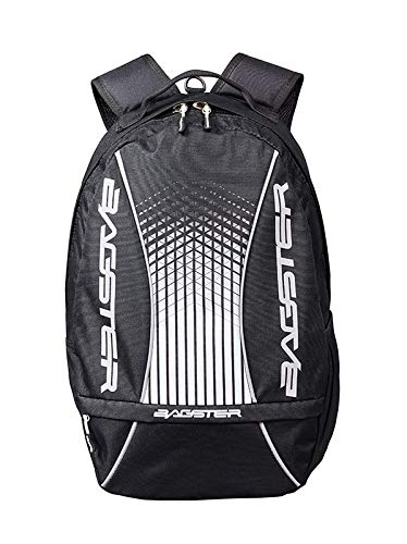 Bagster - Mochila para moto Player Evo, color negro y blanco