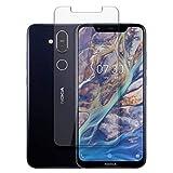 disGuard Protector de Pantalla [Anti-Reflex] compatibile con Nokia 7.1 Plus [2 Piezas] Antirreflectante, Mate, Antirreflejante, Anti-Arañazos, Anti-Huella Dactilar - Película Protectora