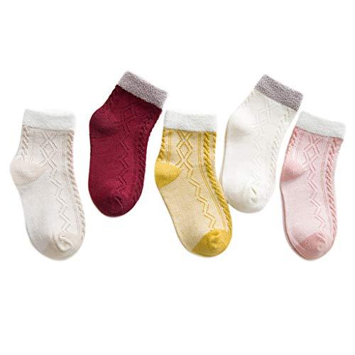 Manyo - 5 pares de calcetín para bebé o niña Chaussettes...