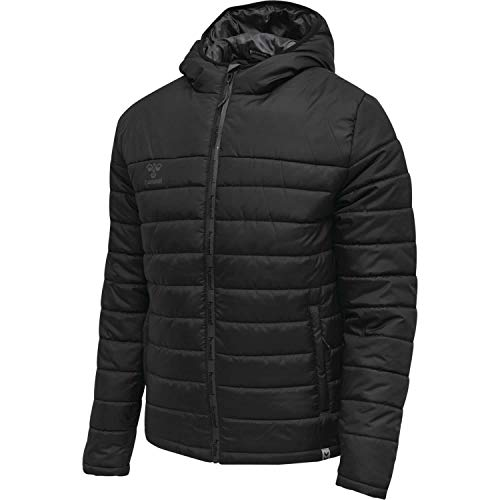 Hummel Kinder Steppjacke North Quilted Hood 206695 Black/Asphalt 152