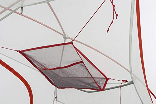 Big Agnes Inc Unisex's Big Agnes Square Gear Loft Tent, Black, One Size