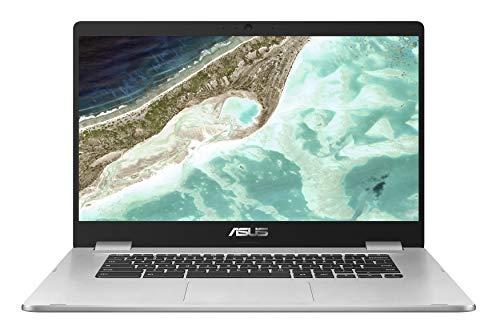 Asus Chromebook C523NA-BR000 Ordinateur Portable 15.6' HD (Celeron, RAM 4 Go, eMMC 64 Go, Chrome OS) Clavier AZERTY Français