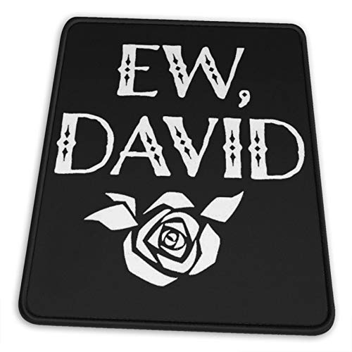 Just789 Ew David Mouse Pad Vertical Non-Slip Rubber Base Mouse Pads for Computers Laptop Office Desk 7 X 8.6 in