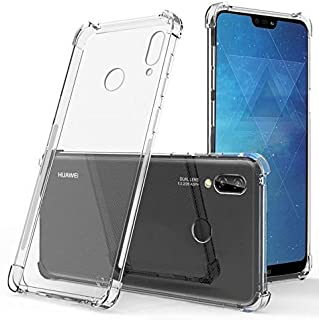 Amazon Brand - Solimo Mobile Cover (Soft & Flexible Shockproof Back Cover with Cushioned Edges)Transparent for Huawei Nova 3i