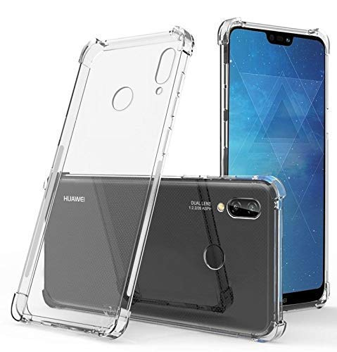 Amazon Brand – Solimo Mobile Cover (Soft & Flexible Shockproof Back Cover with Cushioned Edges)Transparent for Huawei Nova 3i