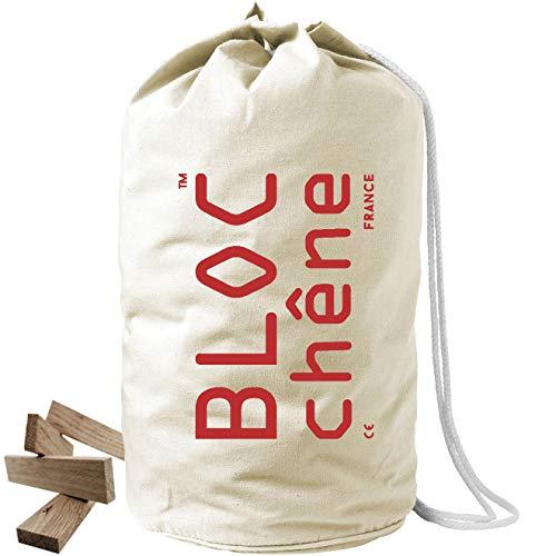 BLOC-chêne - Bolso Marino Natural - Juego de construcción de 400 tablillas para los amantes de la madera