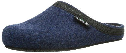 Stegmann Unisex-Erwachsene 127 Pantoffeln, Blau (Jeans 8813), 45