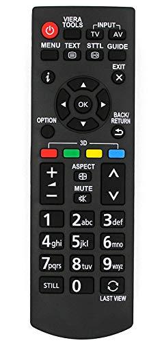 Ersatz Fernbedienung for Panasonic TV TX-39B6B TX-42B6E TX-L32B6B TX-L32B6BS TX-L32B6E TX-L32B6ES