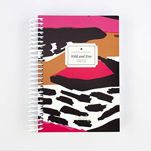Casterli - Colección Have Fun - Agenda Escolar 2020-2021, Día Página, Tamaño A6 (Wild and Free)