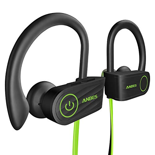 Bluetooth Headphones, Anbes Wireless Earbuds, IPX7 Waterproof Sports Earphones...