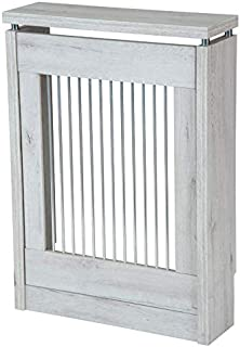 TOP KIT | Cubre radiador Cristian 3060-60 x 84 x 18 | Blanco Mozart
