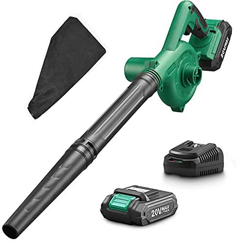 KIMO Cordless Leaf Blower, 2-in-1 Handheld Vacuum/Sweeper