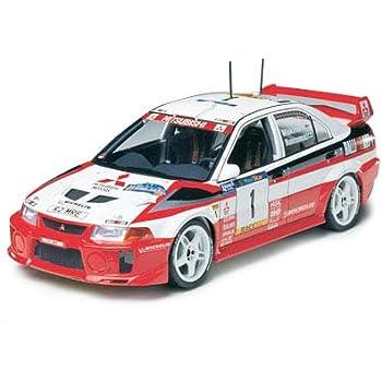 タミヤ 1/24 スポーツカーシリーズ No.203 三菱 ランサー エボリューション V WRC プラモデル 24203