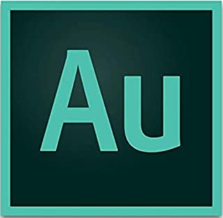 Adobe Audition | Audio recording, editing, and mixing software | 12-month Subscription with auto-renewal, billed monthly, PC/Mac