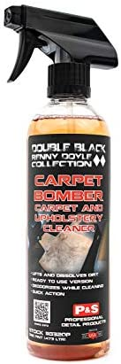 P&S Professional Detail Products - Carpet Bomber - Carpet and Upholstery Cleaner; Citrus Based Cleaner Dissolves Grease and Lifts Dirt; Highly Dilutable; Great on Engines & Wheel Wells (1 Gallon)