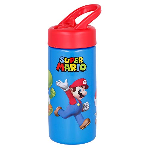 Botella PP Playground 410 ML Super Mario