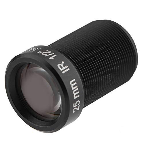 Kafuty CCTV Kameraobjektiv, 5 Millionen Pixel HD Sicherheits WiFi Kameraobjektiv mit 25 mm Brennweite für Nachtsicht, für Gopro, Firefly usw