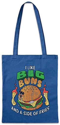 Urban Backwoods I Like Big Buns Hipster Bag Beutel Stofftasche Einkaufstasche