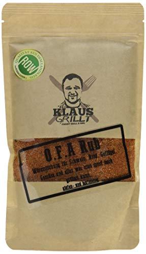 Klaus grillt O.F.A. Rub, 1er Pack (1 x 250 g)