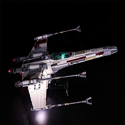 POXL Licht-Set Für Red Five X-Wing Starfighter - LED Licht Set Led Beleuchtungsset Für Lego 10240 - NUR Licht Set
