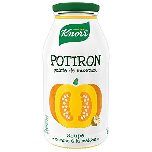 Knorr - Soupe Potiron Pointe De Muscade 45Cl - Lot De 4 - Prix Du Lot - Livraison En France Métropolitaine